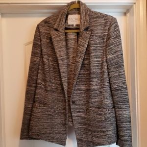 Rachel Roy Black and white knit blazer